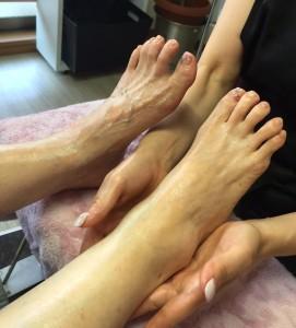 巡活 ママの足